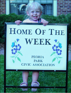 Josie Home of Week sign (3)